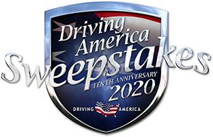 Kwik Fill Driving America Sweepstakes Shield