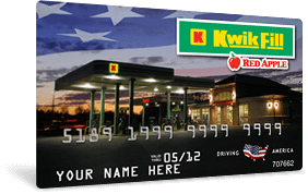 Kwik Fill standard card