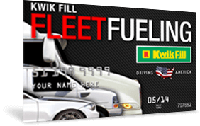Our fleet fueling card