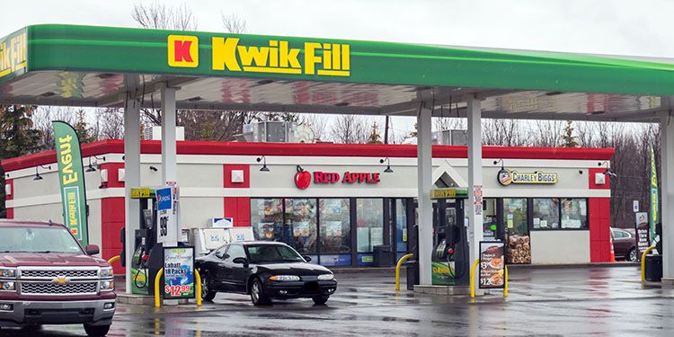 A photo of our Kwik Fill Hamburg location