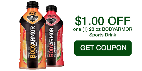 BODYARMOR COUPON