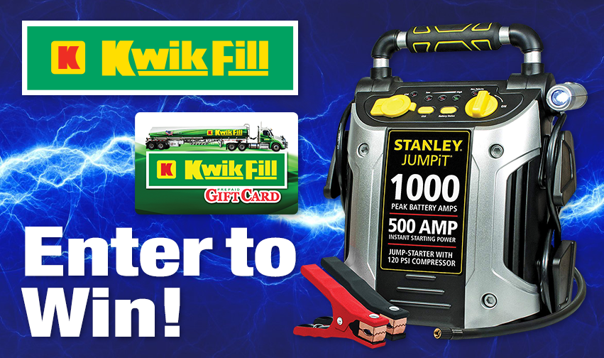 2021 Kwik Fill Jump Start Giveaway