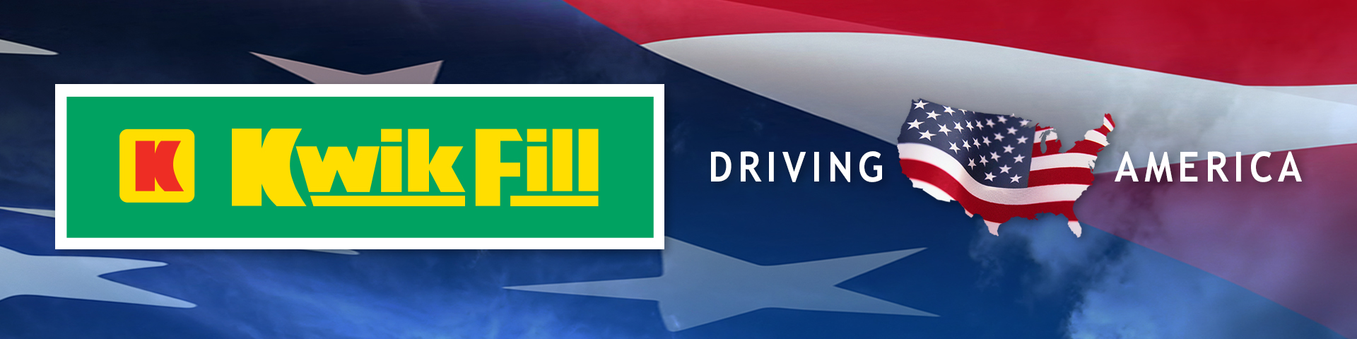 The logo for driving America