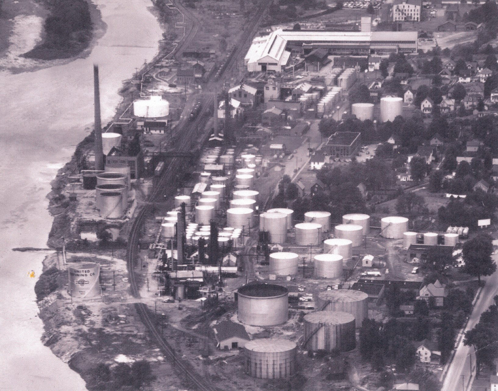 United Refining Company Aerial Image