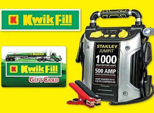 2020 Kwik Fill Jump Start Giveaway