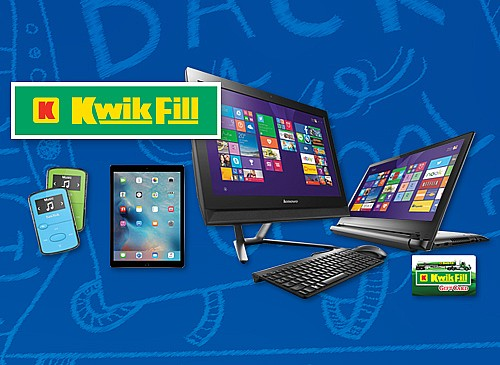 2017 Kwik Fill Back to School Giveaway