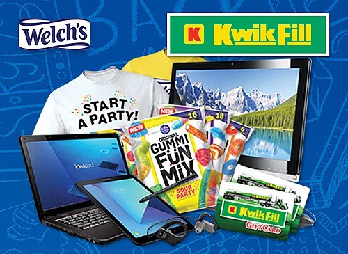 2018 Kwik Fill Welch's Back-to-School Giveaway