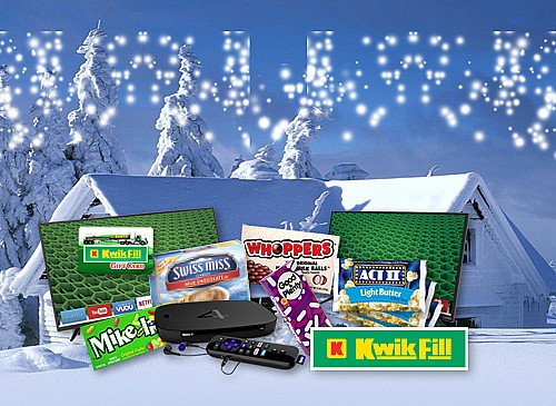 2017 Kwik Fill Cabin Fever Giveaway