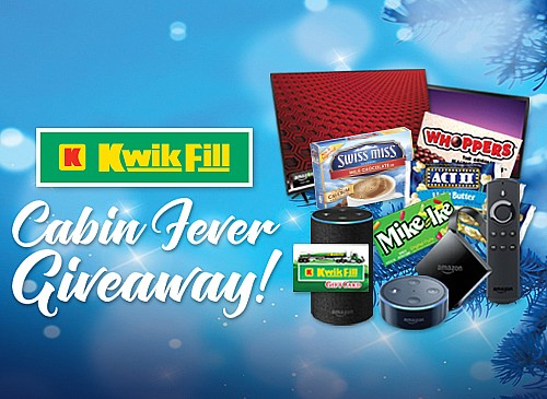 2018 Kwik Fill Cabin Fever Giveaway