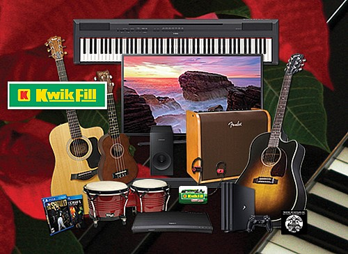 2017 Kwik Fill Sounds of Christmas Giveaway