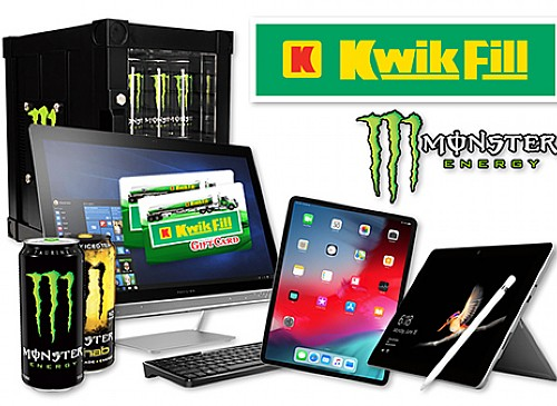 2019 Kwik Fill Monster Back to College Giveaway