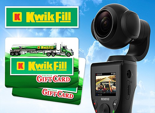 2019 Kwik Fill Road Trip Giveaway