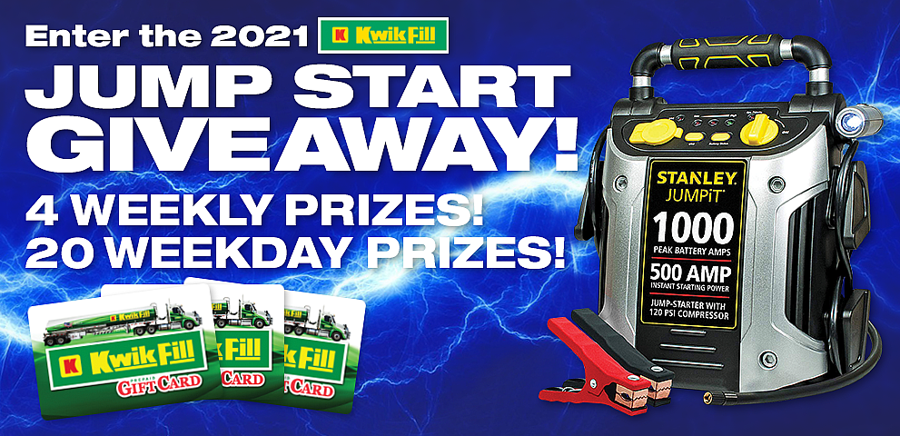 04-2021 Kwik Fill Jump Start Giveaway